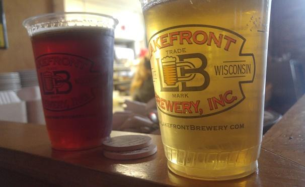 Lakefront 2 beers better